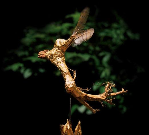 """""""Âme-Oiseau"""", 45/26cm"""