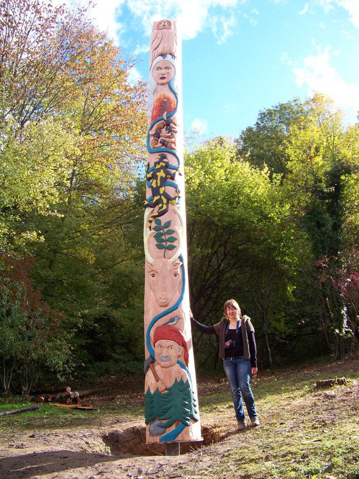 Totem d'Eschbach au Val, Haut Rhin, 6m